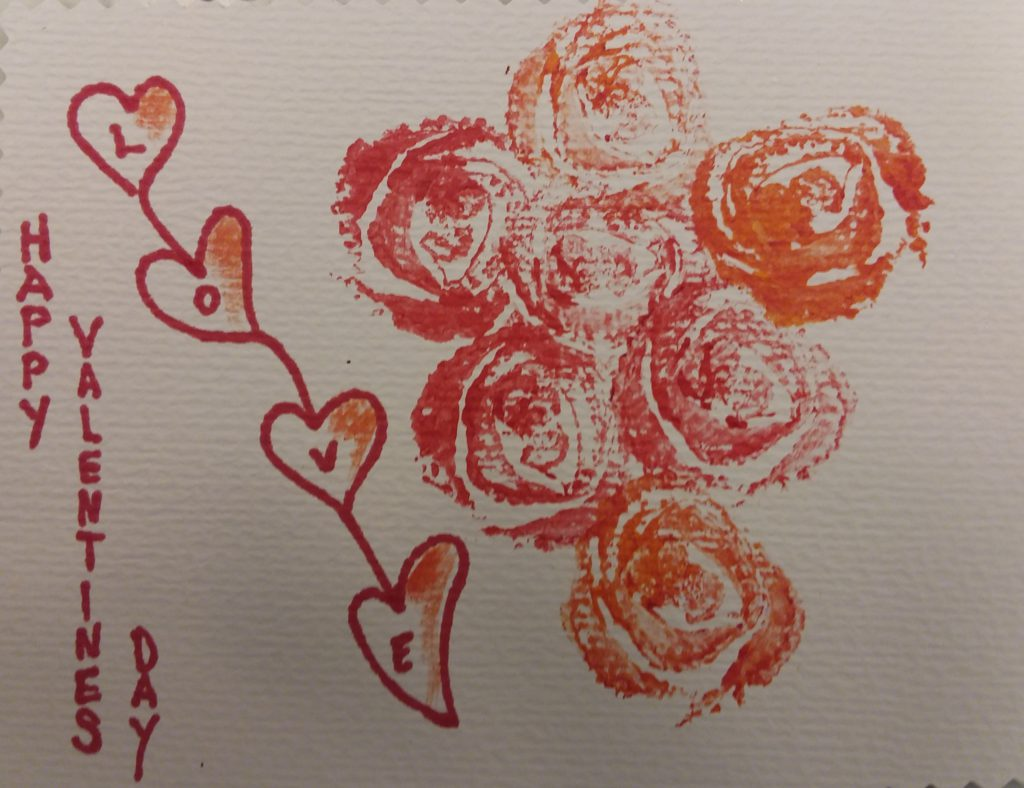 Late Valentine's gift, card, love Express love all year long